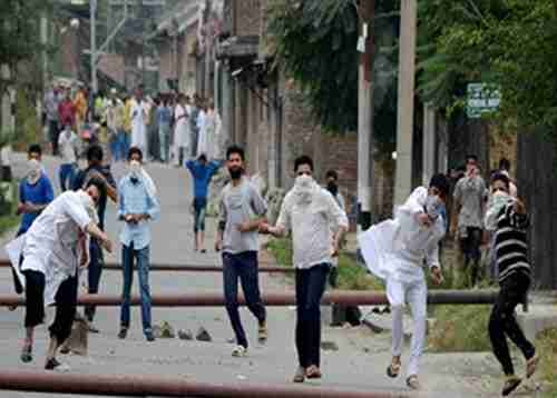 BATTLING STONE PELTING MOBS: BUT TO WHAT EFFECT?